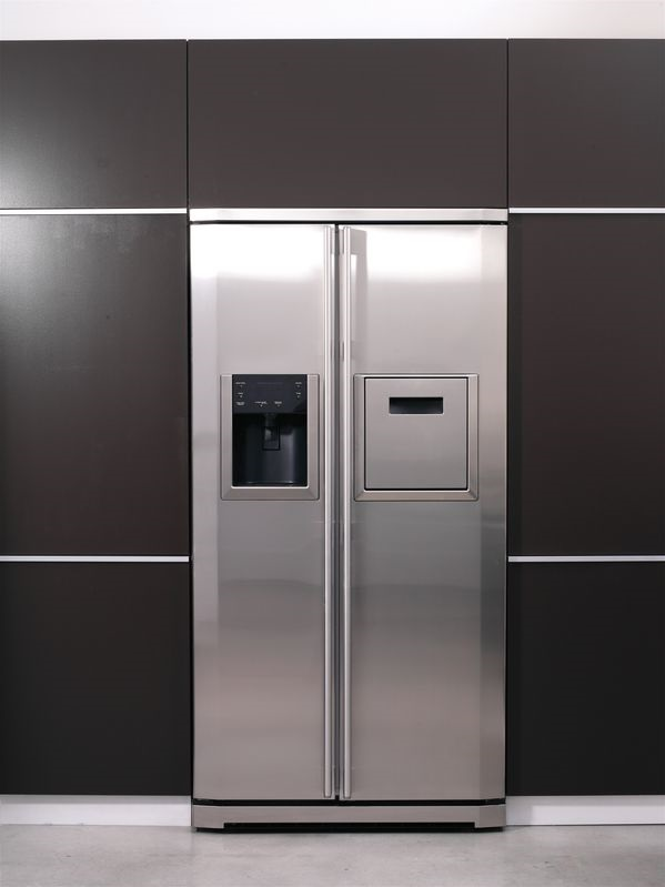 Een koelkast uit Amerika