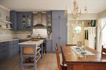 Een klassieke woonkeuken