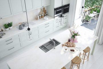 Keuken in lichte kleuren